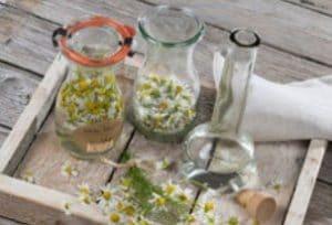 Extrakt z květů heřmánku